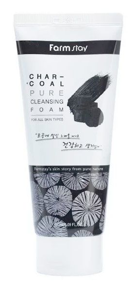 Charcoal Pure Cleansing Foam купить в Спб
